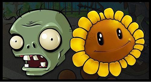 Аркадная игра растения против зомби