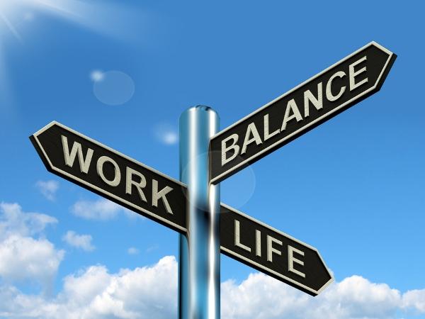 Balancing Work Life Баланс между работой и личной жизнью